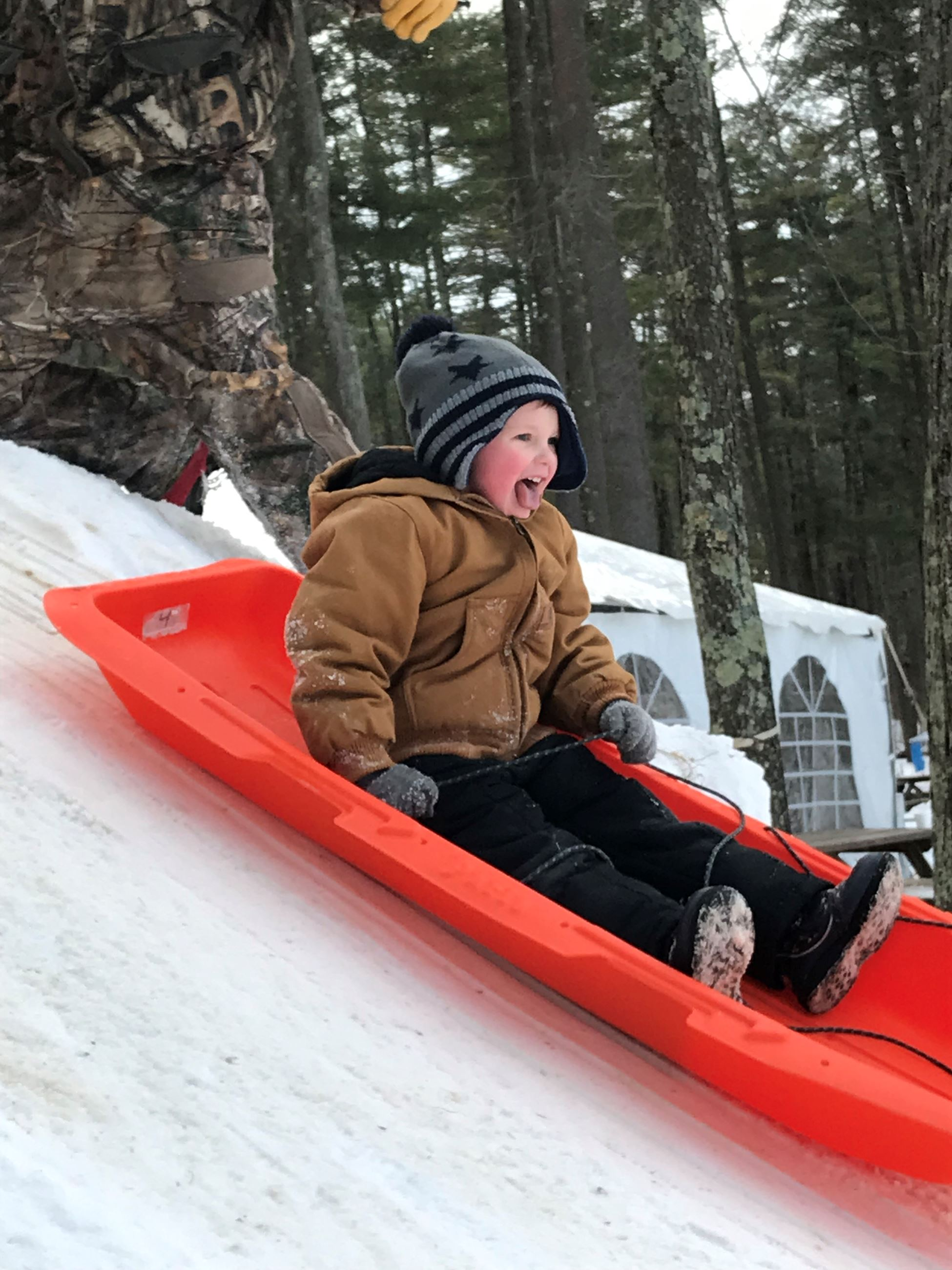 Winterfest 2019 Sledding Joy