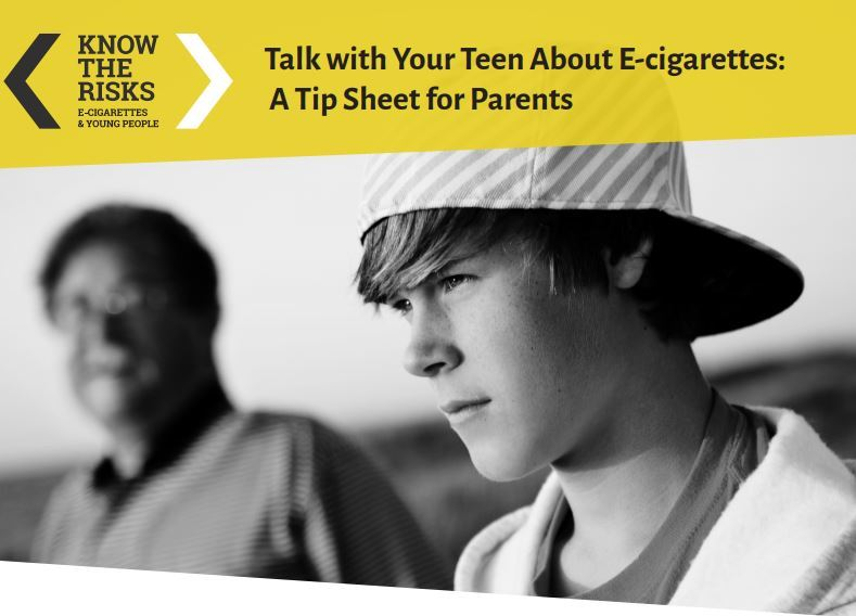Talk to teens about ecig