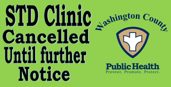 Clinic cancelled until futher notice 4-2-2020