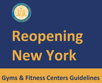 NYS Forward Gym Guidelines