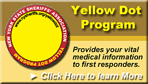 Yellow Dot Program provides your vital medical information to first respnders.