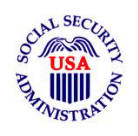 Social Security Administration Logo link to website