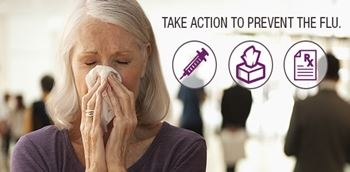 Take Action to Prevent The Flu this season