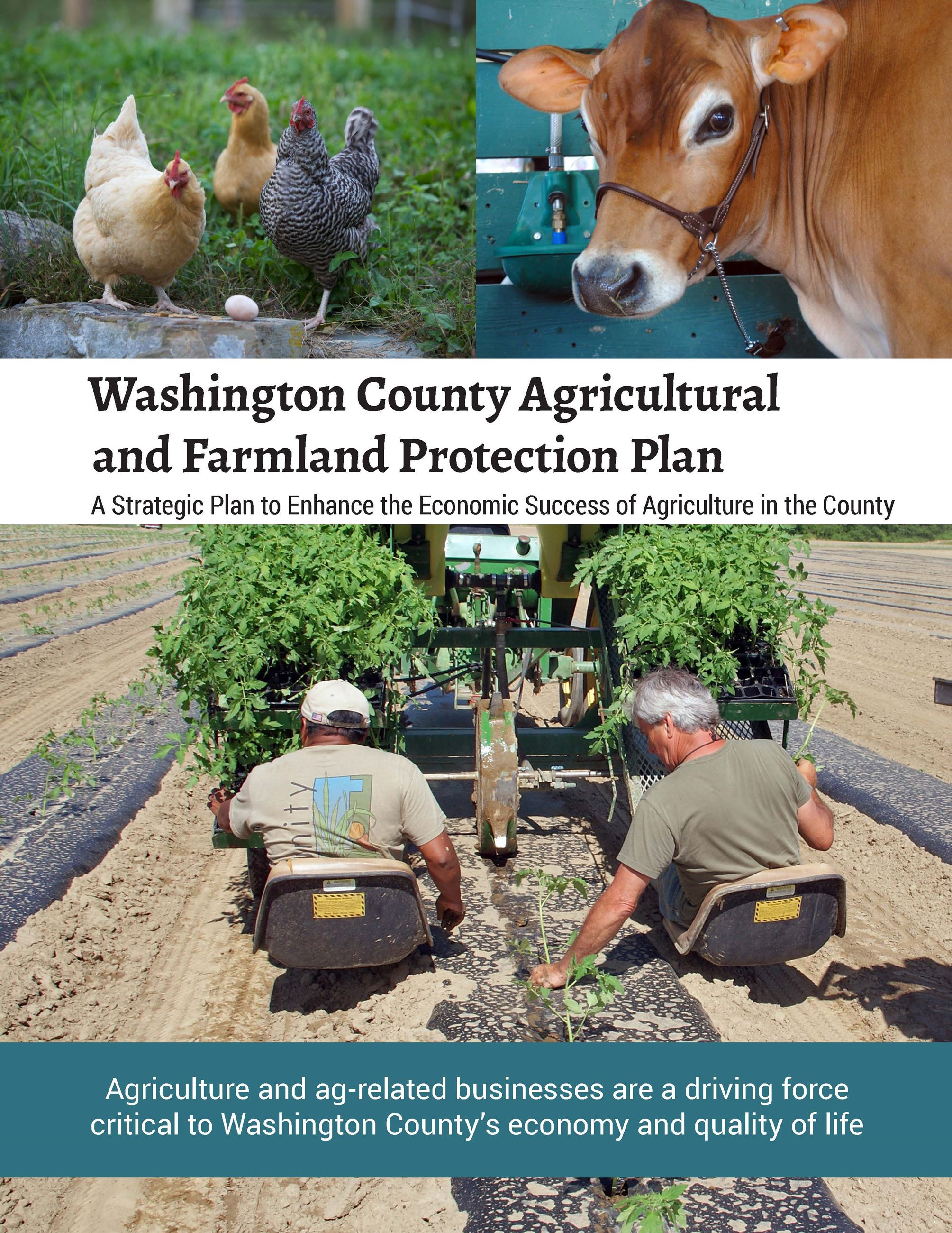 Washington County Agricultural and Farmland Protection Plan