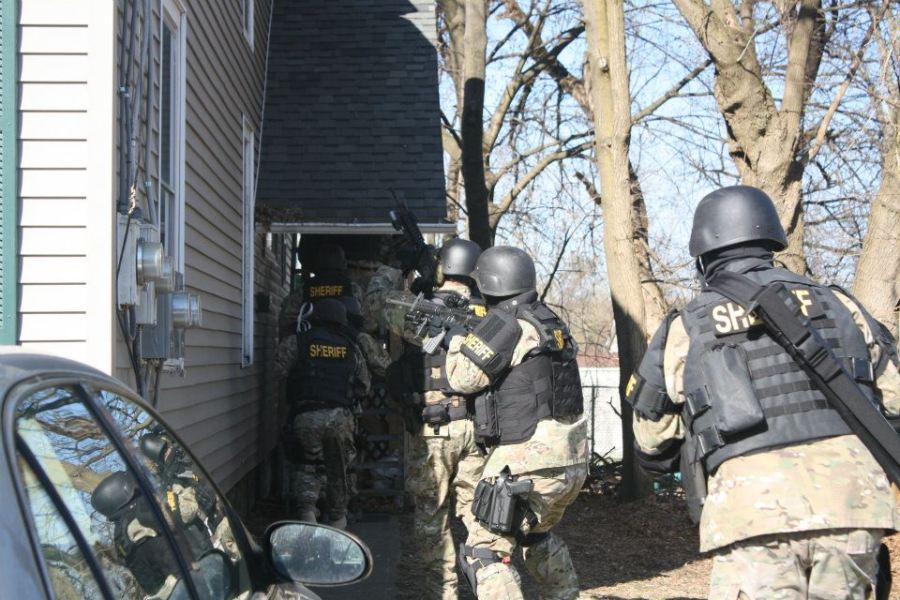 S.E.R.T Search Warrant (drug related)